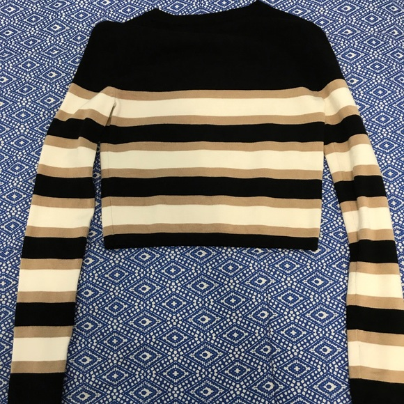 Forever 21 Sweaters - Crop Colorblock Sweater